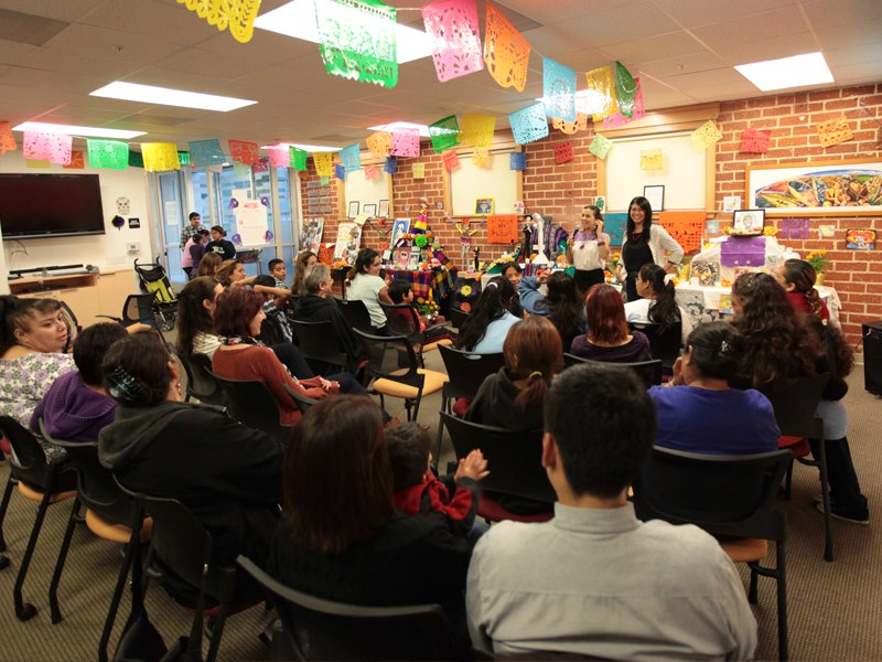A Día de los Muertos event hosted by Peace Over Violence in Los Angeles.